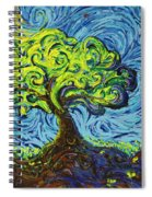 In The Shade Of Glory Spiral Notebook