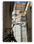In The Shadow Of Il Duomo Spiral Notebook