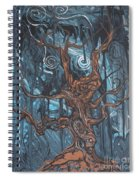 In The Spook Of The Night Spiral Notebook