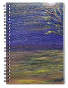 In The Still Of The Night  Spiral Notebook
