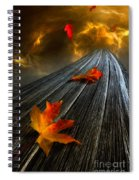 In The Storm Eye  Spiral Notebook