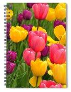 In The Tulip Garden Spiral Notebook