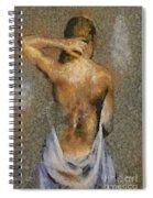 In The Turkish Bath Spiral Notebook
