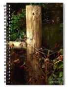 In The Woods By The River Spiral Notebook