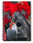 In Time For Christmas Spiral Notebook
