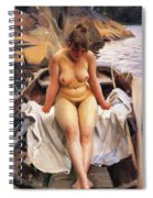 In Werners Rowing Boat Spiral Notebook