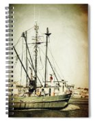In With The Tides Spiral Notebook
