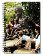 In Wonderland Spiral Notebook