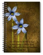 In Your Presence Is Fullness Of Joy Spiral Notebook