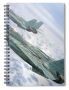 Inbound Spiral Notebook
