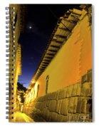 Incan Street Cusco Peru Spiral Notebook