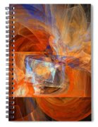 Incendiary Ammunition Abstract Spiral Notebook