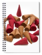 Incense Cones Spiral Notebook