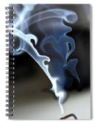 Incense Smoke Dance - Smoke - Dance Spiral Notebook