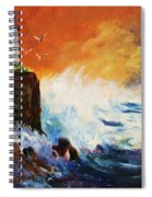 Incoming Squall Spiral Notebook