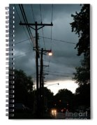 Incoming Storms Spiral Notebook