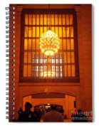 Incredible Art Nouveau Antique Grand Central Station - New York Spiral Notebook