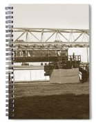 Incredible Hanging Railway  1900 Spiral Notebook