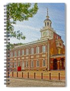Independence Hall Philadelphia  Spiral Notebook