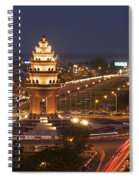 Independence Monument, Cambodia Spiral Notebook