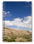 Independence Rock Wy Spiral Notebook