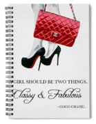 Independent Quote Spiral Notebook