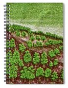 India 10.00 Stamp Spiral Notebook
