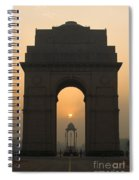 India Gate, Delhi Spiral Notebook
