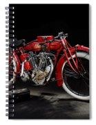 Indian 8-valve Racer Spiral Notebook