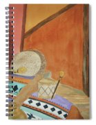Indian Blankets Jars And Drums Spiral Notebook