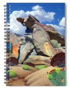 Indian Canyon Rocks Spiral Notebook