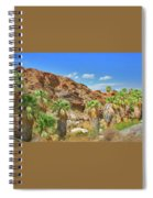 Indian Canyons View In Palm Springs Spiral Notebook