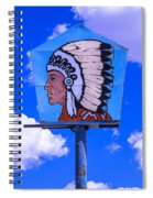 Indian Chief Sign Spiral Notebook