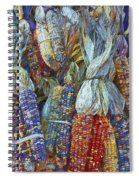 Indian Corn - Fall Colors Spiral Notebook