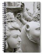 Beautiful Durga Spiral Notebook
