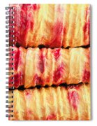 Indian Fabric Spiral Notebook