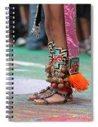 Indian Feet Spiral Notebook