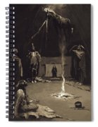 Indian Fire God. The Going Of The Medicine-horse Spiral Notebook