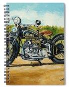Indian Four 1933 Spiral Notebook