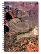 Indian Gardens In The Grand Canyon Spiral Notebook