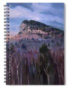 Indian Head In Lincoln New Hampshire Spiral Notebook