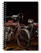 Indian Hedstrom And Powerplus Spiral Notebook