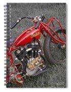 Indian Hillclimber Sv Spiral Notebook