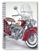 Indian Motorcycle Spiral Notebook
