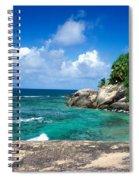 Indian Ocean Moyenne Island Seychelles Spiral Notebook