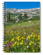 Indian Peaks Wildflower Meadow Spiral Notebook