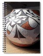Indian Pot 1 Spiral Notebook