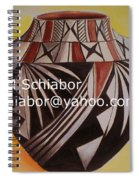 Indian Pottery Spiral Notebook