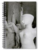 Indian Sculpture Spiral Notebook