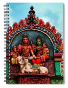 Indian Temple Spiral Notebook